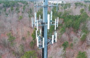 Aerial Drone Photography of Cell Towers