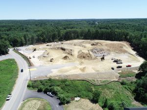 Aerial Drone Photography of Construction Sites